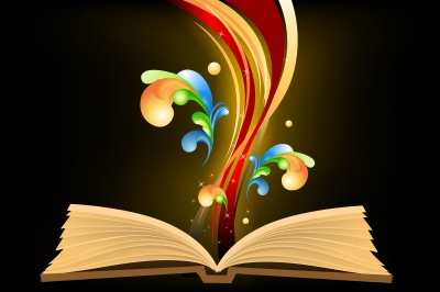 ID-10051972 - Opened Magic Book Stock Image - digitalart