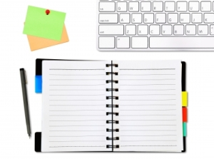 ID-10041444 - Notepad And Keyboard Stock Photo - twobee
