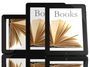 ID-10093732 - Tablet Computer With Books Stock Image - adamr