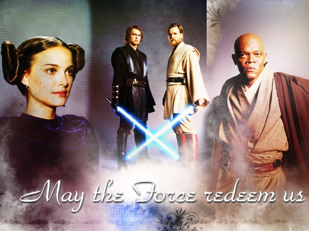 may the force redeem us